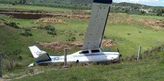 Cae avioneta, resultan lesionadas cinco personas