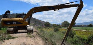 CAAMT mantiene limpieza en ríos y drenes