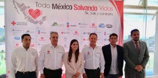 "Anuncian carrera de Cruz Roja ""Todo México salvando vidas"""