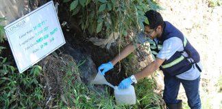 Conagua realizó monitoreo de descargas de aguas residuales municipales