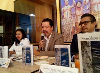 Cohutec Vargas presenta su nuevo libro 'Neuroeducación'