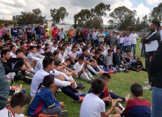 Participan niños y jóvenes en programa de visorias del Club Pachuca