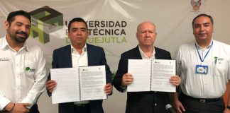 Firman acuerdo la UPE y la UPH en beneficio del alumnado