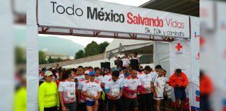 Realizan segunda edición de carrera de Cruz Roja