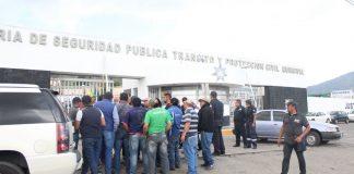 Gaseros provocan movilización policial en Pachuca