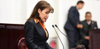 Preside Ma. Pérez Junta de Gobierno del Congreso local