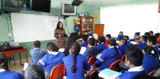 Continúan ofreciendo pláticas de prevención en escuelas de Tulancingo