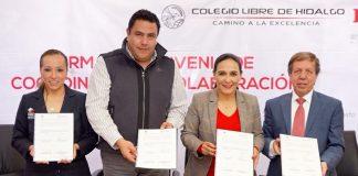 PRI y Colegio Libre de Hidalgo firman convenio de colaboración