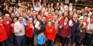 Celebra el PRI consulta partidista en Tepeapulco