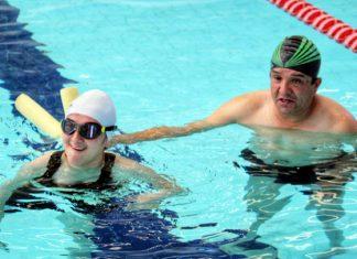 Organizan evento amistoso de natación en Pachuca