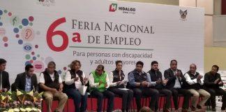 Realizan sexta feria de empleo para adultos mayores
