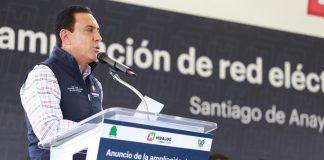 Arrancan obras de electrificación en Santiago de Anaya