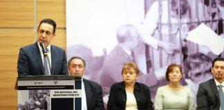 Omar Fayad reitera llamado a reformar el NSJP
