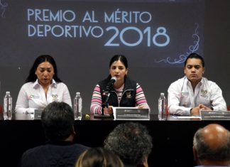 Presentan Premio al Mérito Deportivo 2018 dedicado a Raúl Jiménez