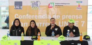 Corporativo UNNE organiza su séptima carrera en Tula