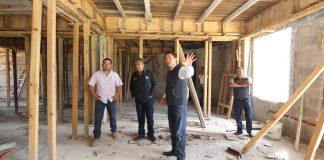 Casi lista obra del Centro de Seguridad en Zempoala