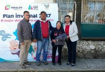 Alistan entrega de cobijas en Singuilucan