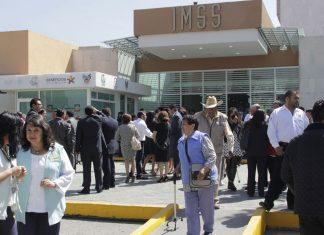 Labores normales en el área de urgencias del IMSS
