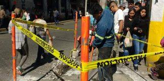 Rehabilitan rampas en banquetas del centro de Tulancingo