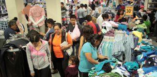 El centro de Pachuca, congestionado esta navidad