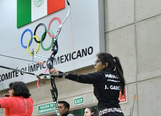 Conquista Hidalgo 13 preseas en nacional de tiro con arco