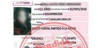Vinculan a proceso pareja de joven desaparecida en Tlanalapa