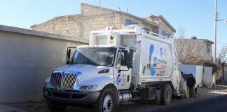 Roban camión de basura de Epazoyucan