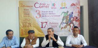 Huasca, escenario de Carrera del Amor y la Amistad