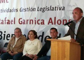 Rafael Garnica presenta balance de actividades legistlativas