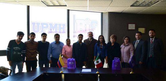 Estudiantes de la UPMH viajarán a Colombia y Bolivia