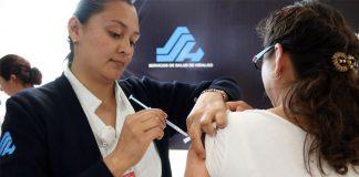 Exhorta salud a evitar automedicarse y vacunarse contra influenza