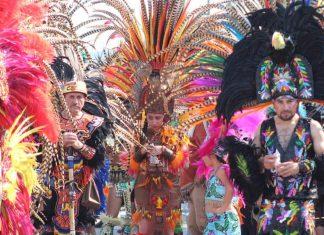 Deja derrama de 1.5 mdp Carnaval de Santiago Tulantepec