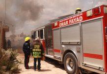 Se incendia basurero clandestino en Zempoala
