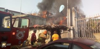 Causa alarma incendio en vivienda de Cuautepec por hidrocarburo