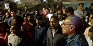 Protestan en Mineral de la Reforma por inseguridad