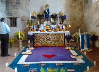 Altares a Dolores, en exconventos de Epazoyucan y Actopan