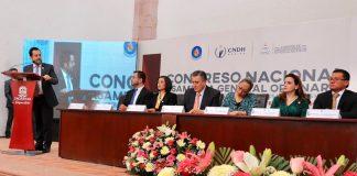 Hidalgo, presente en el 50 Congreso y Asamblea de la FMOPDH