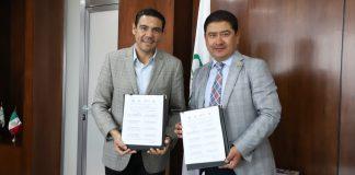 Firman acuerdo contra la rabia IMSS y SSH