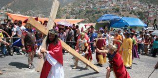 En marcha, 39 edición del Viacrucis de Las Lajas