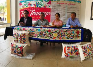 Presentan festival Tul-Tenango en Tulancingo