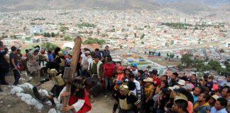 Gran responsabilidad representar a María en Viacrucis de Las Lajas
