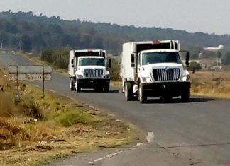 Amplian flota de camiones recolectores en Tulancingo