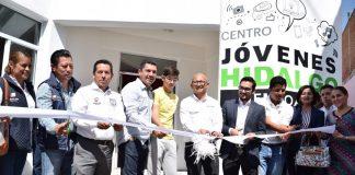 Abre en Zempoala el primer Centro Jovenes Hidalgo