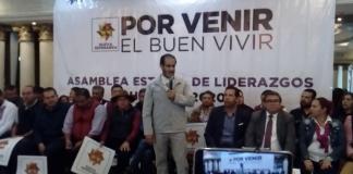 Agrupacion de Rene Bejarano celebraasamblea estatal