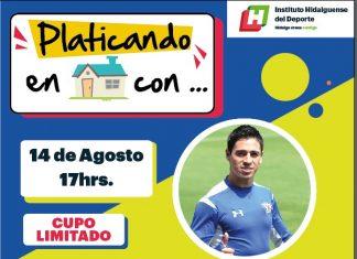 Participará Fausto Pinto en entrevista virtual con aficionados