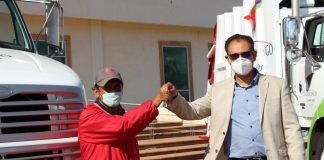 Estrenan unidades para recolectar basura en Tulancingo