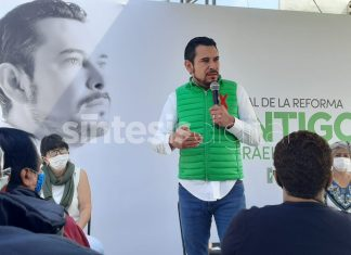 Israel Félix Soto se reunió con vecinos del fraccionamiento San Fernando