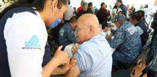 Aplican más de 140 mil vacunas contra la influenza en Hidalgo