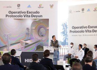 Desarrolla Hidalgo protocolo con Vita Deyun contra Covid-19