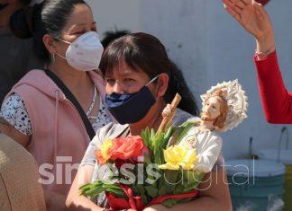 Pese a pandemia, fieles asisten a celebrar a San Judas Tadeo